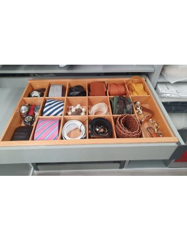 Organizador de madera para cajones